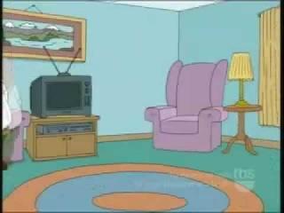 Family Guy, гриффины - Питер забыл как сидеть