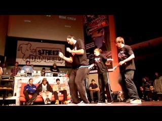 Vilnius Street Battle 2013: Hip-Hop 3vs3 Rise crew vs Trash crew