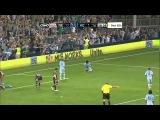 Kei Kamara celebrates goal St. Paddy's style