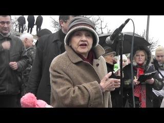 Митинг в Защиту пляжа Солнечного (Севастополь 19.10.2013)