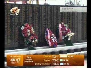 Два года мемориальному комплексу в Котельниче