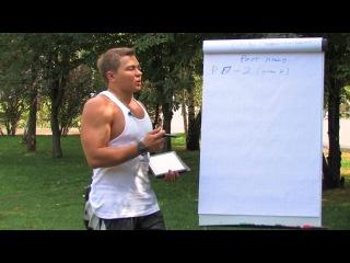 1. Тренировки для роста мышц.   Правила: подходы, повторения   (запись с 7-ми дневного Мастер Класса)
