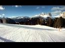 Ski season opening in Canazei / Sella Ronda / Passo Pordoi