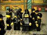 Lego Matrix Reloaded- Burly Brawl