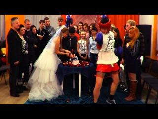 Harlem Shake - Замес во время свадебного торта