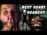 BEST SCARY SCARES MONTAGE!! (WARNING: JUMPSCARES AND SCREAMS!) (2000th Video!!)