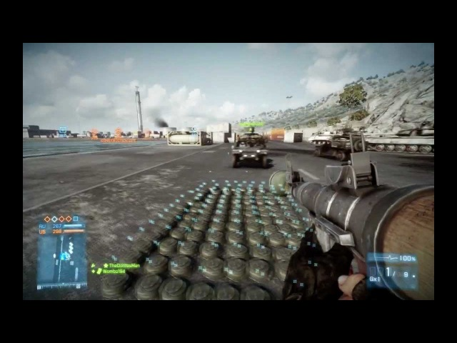 Battlefield 3 - Rocket Jeeping: 100 Mines and a Jeep Later...
