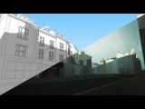Sketchup/Photoshop digital painting workflow