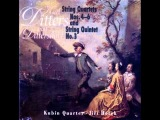 Karl Ditters von Dittersdorf (1739 - 1799) String Quartet No.4 C Major