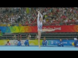 2008 Olympics Ksenia Afanasyeva (RUS) Team Final Floor Exercise