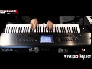 Korg Kronos Demo part 2: Split, El.Piano, Hammond - performed by S4K Team Alex DD (space4keys)