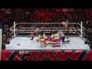Kaitlyn vs Tamina Snuka - Raw Roulette Las Vegas Showgirls Lumberjills Match: Raw, Jan. 28, 2013