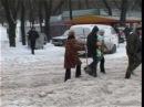 Снегопад в Одессе -