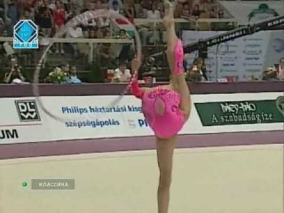 Alina Kabaeva 1999 EC Budapest EF hoop