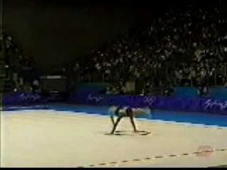 Alina Kabaeva hoop 2000