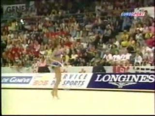 Alina Kabaeva Hoop EC EF Geneve 2001