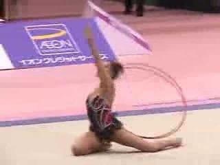 Alina Kabaeva hoop 2002