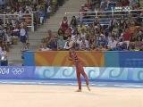 Alina Kabaeva hoop 2004