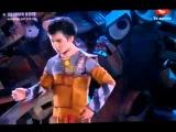 Танец робота Валли - романтично и красиво)