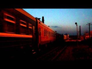 Скорый поезд №59 София-Москва(М62-1439).avi
