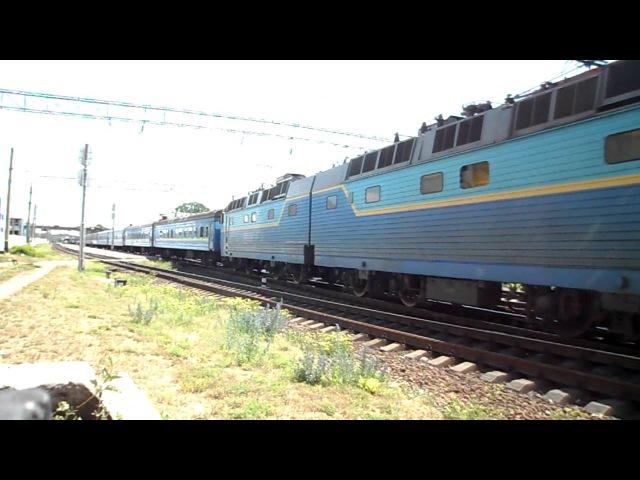 ЧС8-076 отправляется со ст. Им. Т. Шевченко