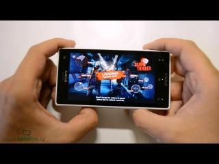 Обзор Sony Xperia Acro S (review): дизайн, ПО, окунание в воду