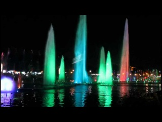Luneta Park Dancing Fountain- All i want for Christmas