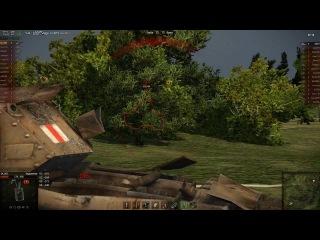 World Of Tanks Jagdpanther вытаскивает бой. Как всегда в одиночку.