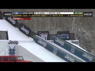 2013 X Games Aspen Run 2 Mens Snowboard Slopestyle Elimination Full Highlights