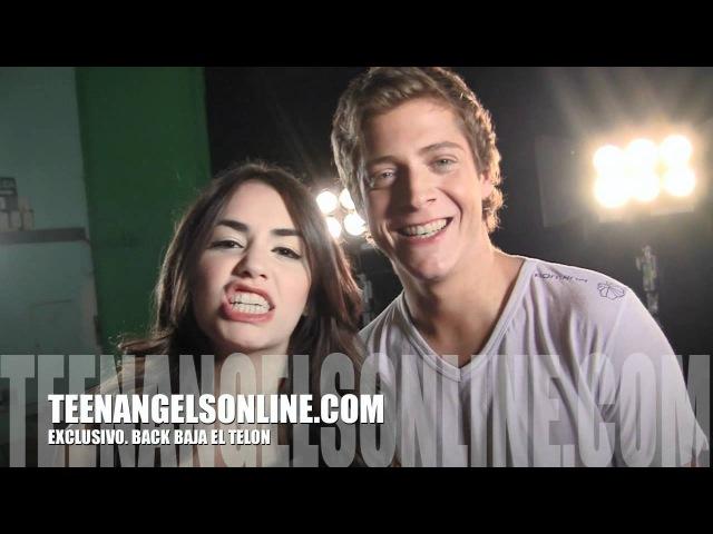 Backstage TeenAngels на последний клип Вaja el telon