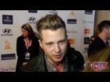 Ryan Tedder 'One Republic' Interview- Reveals Next Single! - Clive Davis Grammy Party 2013
