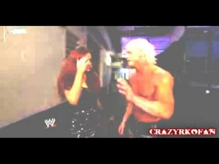 Dolph Ziggler and Maria Kanellis - California King Bed