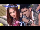 090815 Star Golden Bell Seung yeon kara immitating TaecYeon 2PM