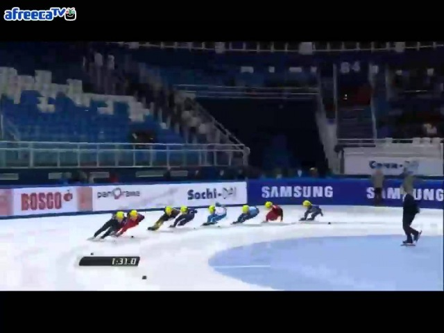 2012/2013 Short Track World Cup5 Men's 1500m Final A