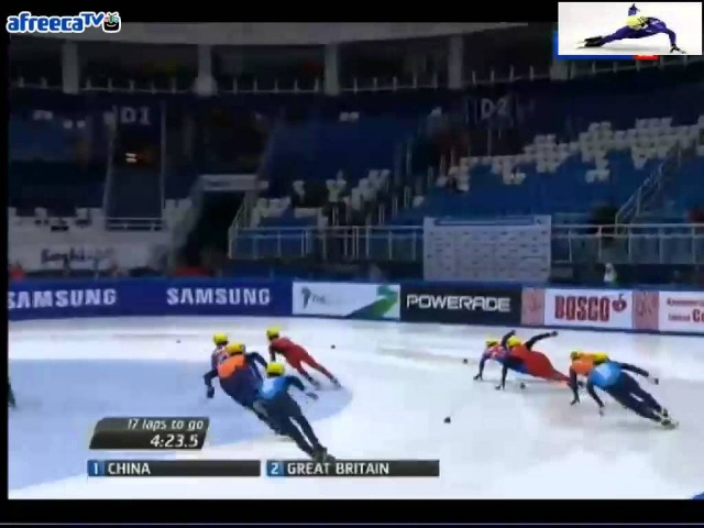 2012/2013 Short Track World Cup5 Men's 5000m Relay Final A