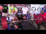 Jake Prazak 865Lb Bench $3000cash +UPC Belt Wins Baddest Bench at The Big Show WY