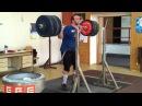 Jiri Orsag back squat 3x300 kg