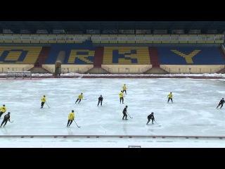 тренировка хк Волга на ст.Зоркий 1.11.12.