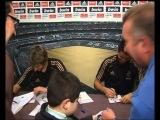 Криштиану и Коэнтрау раздавали автографы в Малаге