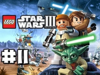 LEGO Star Wars 3 - The Clone Wars - Episode 11 - Jedi Crash (HD)