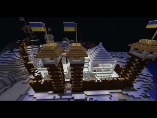 Дома на сервере Майнкрат 4 Замок от 1337 пацана и OriGinaLa