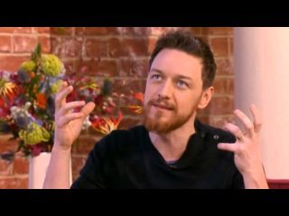 James McAvoy on This Morning
