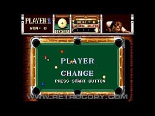 Minnesota Fats - Pool Legend (Sega Genesis / Mega Drive) Intro