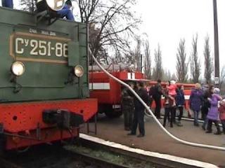 Паровозная поездка с паровозом Су251-86,  г.