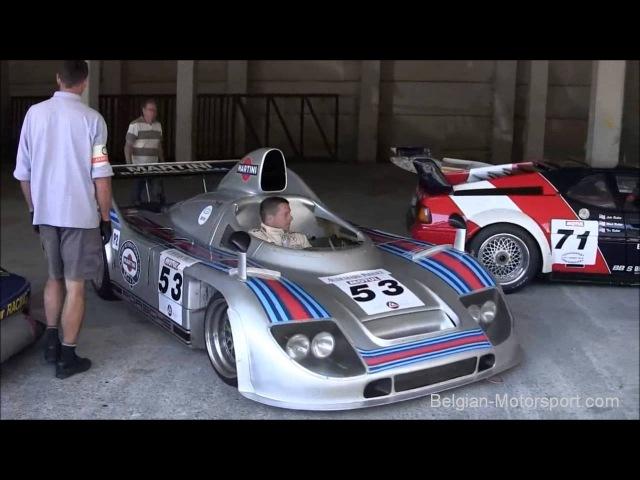Pure classic racecar sounds parc fermé 935 K3 BMW M1 512BB LM Lola Chevron