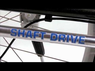 Dynamic Bicycles' Shaft Drive System (велосипед с вальным приводом и планетарной втулкой передач)
