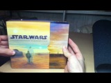 Распаковка Star Wars Blu Ray Complete Saga