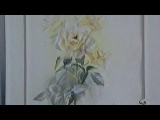 Цветы в акварельной живописи