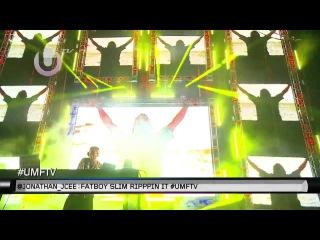 Fatboy Slim Live @ Ultra Music Festival 24.03.2012 - (720p Full Set w/ Tracklist)