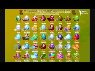 [HD] DragonVale All Eggs [Clover Dragon]